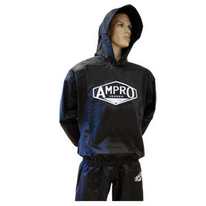 Ampro Heavy Duty Hooded Sauna Sweat Suit