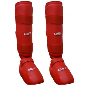 Cimac Shin And Removable Instep Pads – Red