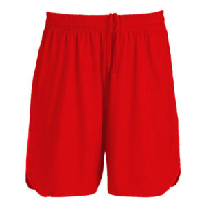 UNBRANDED Junior / Kids Lightweight Shorts – Red
