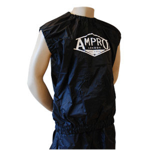Ampro Pro Sleevless Sweat Suit Top and Shorts