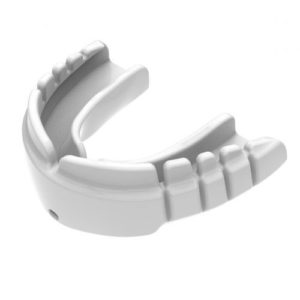 Opro Snap-Fit Braces Mouthguard – White