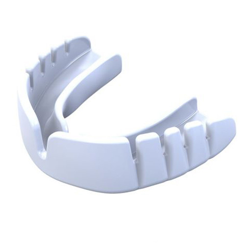 Opro Snap-Fit Adult Mouthguard – White
