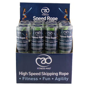 Fitness Mad Speed Rope Mixed Box of 12