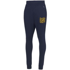 Sugar Rays Slim Fit Tracksuit Bottoms – Navy
