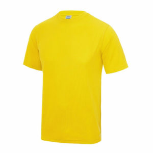 UNBRANDED Junior/Kids Lightweight Cool T-Shirt – Yellow