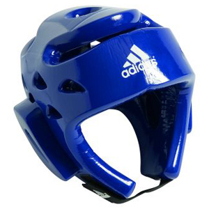 adidas WTF Approved Dipped Foam Head Guard – Blue