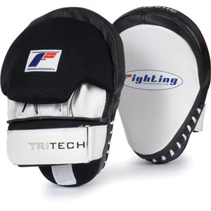 Fighting Sports Tri-Tech® Curved Punch Mitts w/ Tap Pad