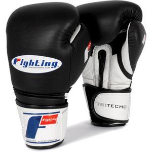 Fighting Sports Tri-Tech® Bag Gloves – Black