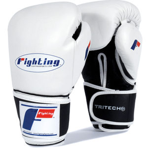 Fighting Sports Tri-Tech® Bag Gloves – White