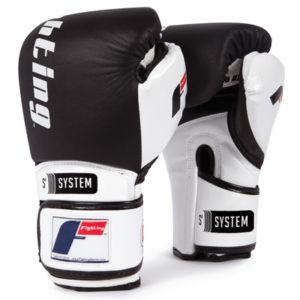 Fighting Sports S2 Gel Power Bag Gloves – Black/White