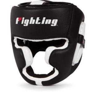 Fighting Sports S2 Gel Full Training Headgear – Black/White