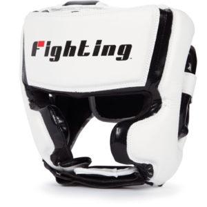 Fighting Sports S2 Gel Training Headgear – White/Black