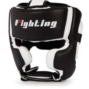 Fighting Sports S2 Gel Training Headgear – Black/White