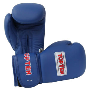Top Ten Olympic AIBA 12oz Boxing Gloves – Blue