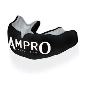 Ampro Custom Made Dentist Pro Mouthguard – White & Black