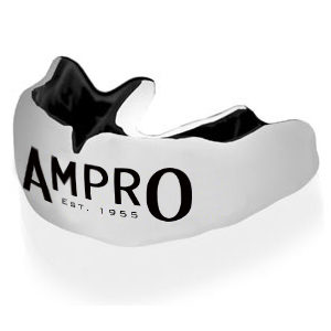 Ampro Custom Made Dentist Pro Mouthguard – Black & White