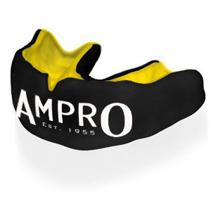 Ampro Custom Made Dentist Pro Mouthguard – Yellow & Black