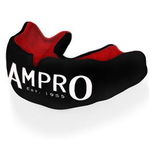 Ampro Custom Made Dentist Pro Mouthguard – Red & Black