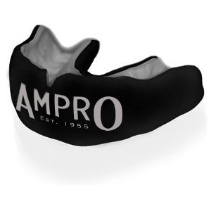 Ampro Custom Made Dentist Pro Mouthguard – Silver & Black