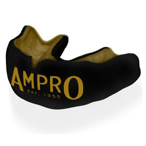 Ampro Custom Made Dentist Pro Mouthguard – Gold & Black
