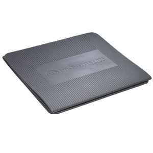 Fitness-Mad Pro Stretch Tri-Fold Aerobic Mat – Grey