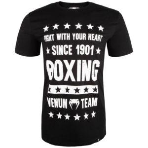 Venum Boxing Origins Short Sleeve T-Shirt – Black/White