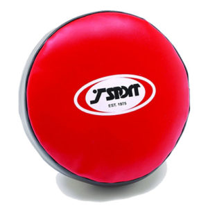 T-Sport Round Shield – Red/Black.