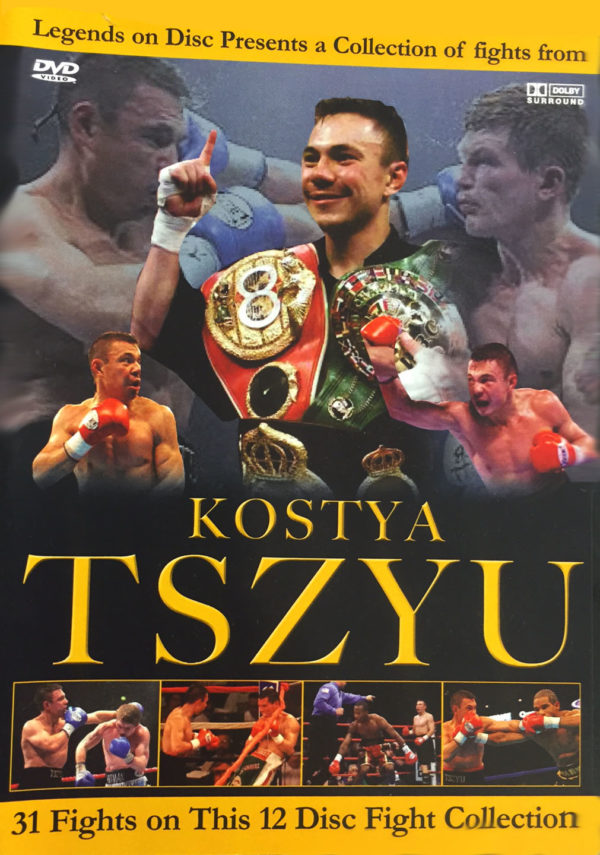 Legends on Disc – Kostya Tszyu 31 Fights on 10 Disc