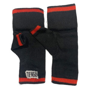 Tuf-Wear Padded Inner Glove – Black/Red