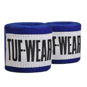 Tuf-Wear 1.5m Junior/Kids Boxing Hand Wraps – Blue