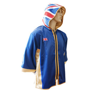 Bespoke Made Union Jack Hood Ring Jacket