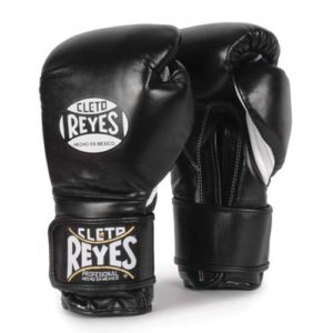 Cleto Reyes Hook and Loop Sparring Gloves – Black