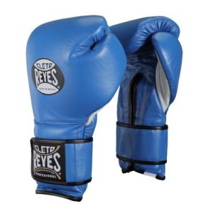 Cleto Reyes Hook and Loop Sparring Gloves – Blue