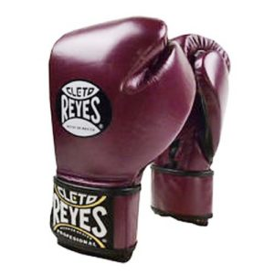 Cleto Reyes Hook and Loop Sparring Gloves – Metallic Purple