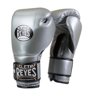 Cleto Reyes Hook and Loop Sparring Gloves – Platinum