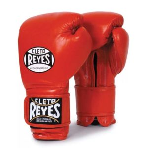 Cleto Reyes Hook and Loop Sparring Gloves  – Red