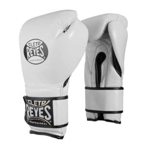 Cleto Reyes Hook and Loop Sparring Gloves – White