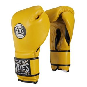Cleto Reyes Hook and Loop Sparring Gloves – Yellow
