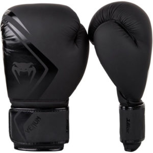 Venum Contender 2.0 Boxing Gloves – Black/Black