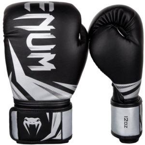 Venum Challenger 3.0 Boxing Glove – Black/Silver