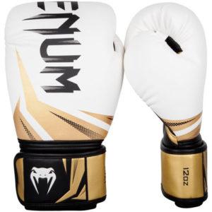 Venum Challenger 3.0 Boxing Glove – White/Black/Gold