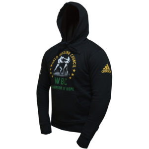Adidas Boxing Hoody  – Black/WBC Logo