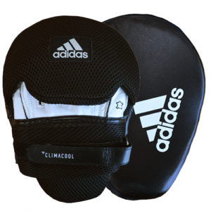 Adidas Pro Focus Mitts – Black/White