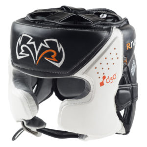 Rival RHG10 INTELLI-SHOCK Headgear – White/Black