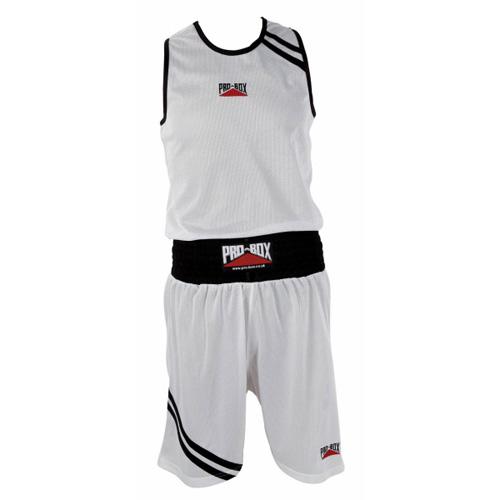 Pro-Box Club Boxing Vest and Short Set – Black