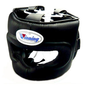Winning FG-5000 Full Face Bar Headguard – Black