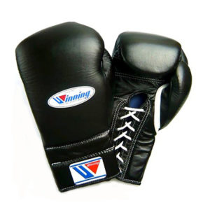 Winning MS Training Gloves Lace Up – Black