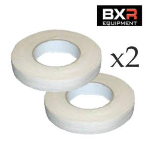 BXR Zinc Oxide Tape [25mm x 50m] x2