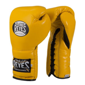 Cleto Reyes Lace Up Sparring Gloves Yellow